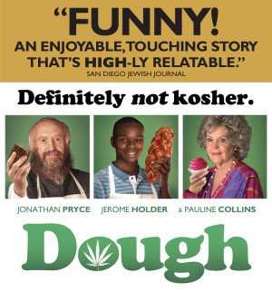 Definitely NOT Kosher. Hit Comedy DOUGH In Theaters Friday!