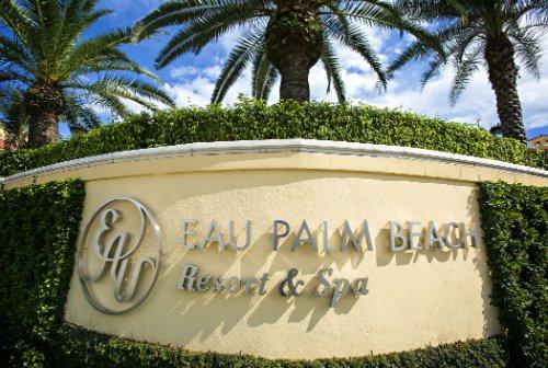 Entrance Eau Palm Beach Resort & Spa