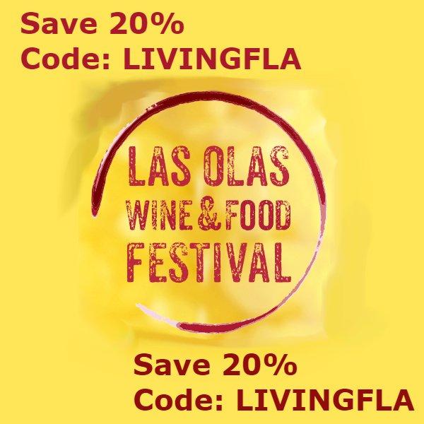 20% Off – Las Olas Wine and Food Festival