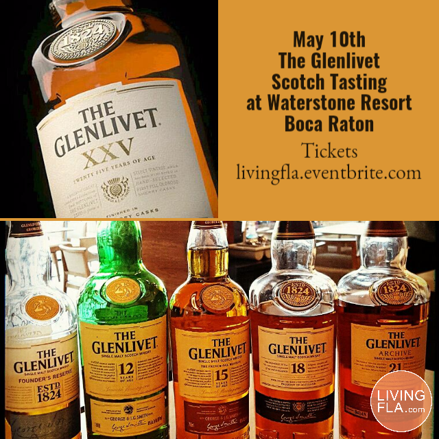 The Glenlivet Scotch Tasting at Waterstone Resort & Marina