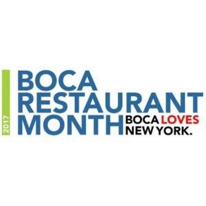 Boca Restaurant Month