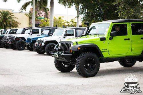 Jeep Gone Wild at Tilted Kilt Boca