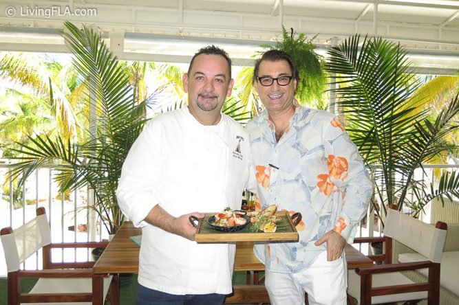 Chef Brian Molloy, Nikki Beach Miami & Cary Roman, LivingFLA.com