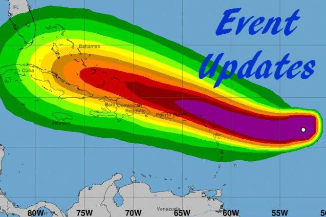 Hurricane Irma - Event Updates