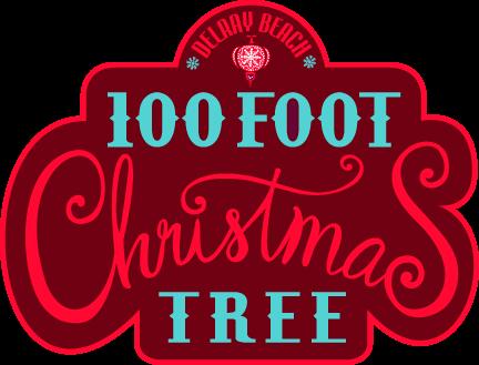 100 Ft Christmas Tree Lighting Delray Beach LivingFLAcom