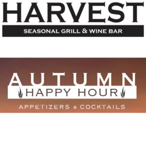 Harvest Seasonal Grill & Wine Bar – Autumn Happy Hour & Specials