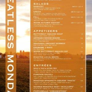 Harvest Seasonal Meatless Monday Fall
