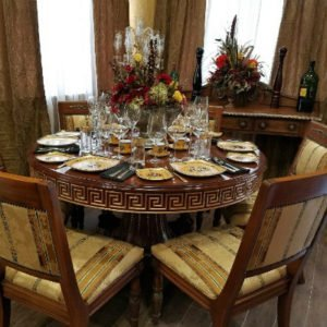 Thanksgiving Day Feast At The Winemakers Table