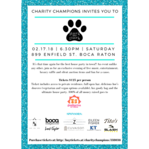 Bark After Dark 2018 Hosted by Charity Champions