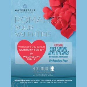 Valentine's Dinner at Waterstone Resort & Marina