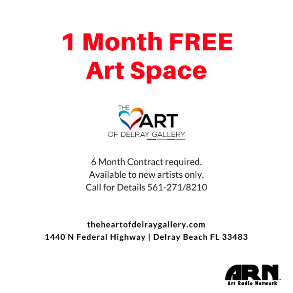 1 Month FREE Art Space