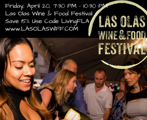 Save 15 % Las Olas Wine & Food Festival