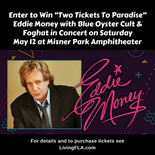 "Win ""Two Tickets To Paradise"" – Eddie Money"