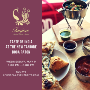 Taste of India at the New Tanjore Boca Raton