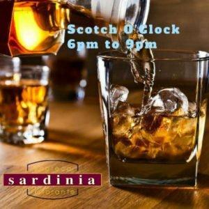 Scotch O'Clock at Sardinia Delray Beach