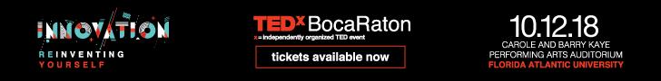 TEDx Boca Raton 2018
