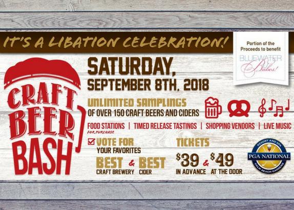 2018 Craft Beer Bash Weekend at PGA National Resort & Spa