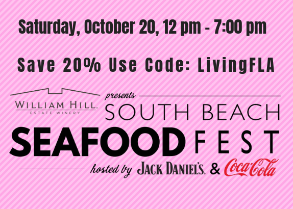 Discount Tickets - 6th Annual South Beach Seafood Festival