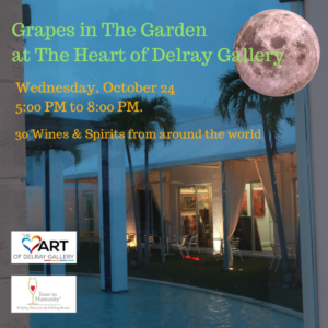 Grapes In The Garden at The Heart of Delray Gallery