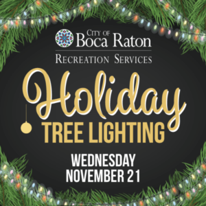 Light Up Downtown Boca Holiday Street Festival & Tree Lighting
