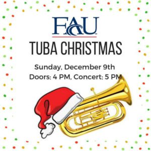 FAU's Tuba Christmas at Mizner Park Amphitheater
