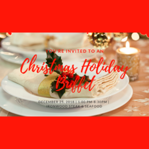 PGA National Christmas Holiday Buffet on Christmas Day