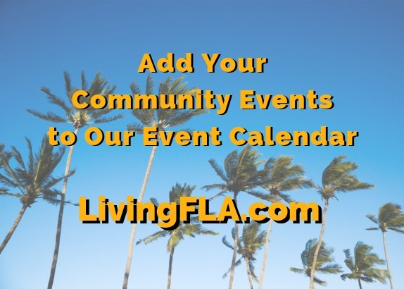 Free - Add Your Community Events to Our Calendar!