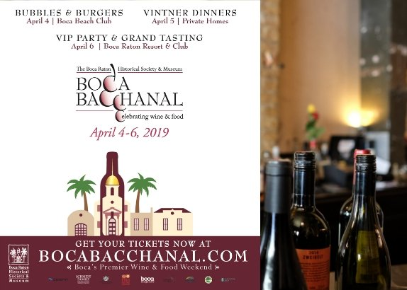 The Boca Bacchanal April 4 - 6, 2019 - Update