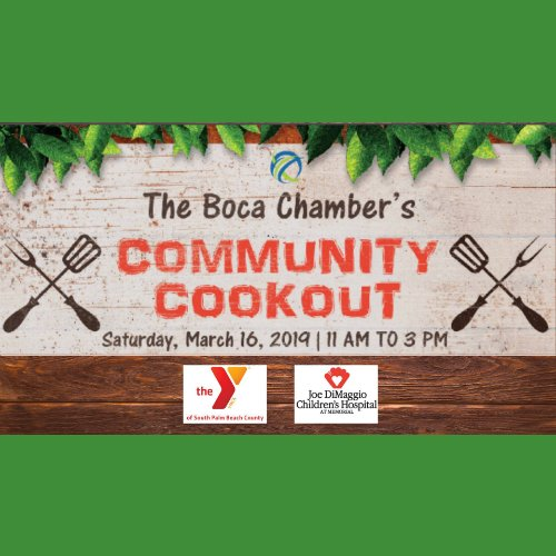 The Boca Chamber's Community Cookout