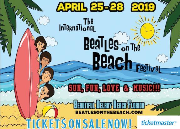The International Beatles On The Beach Festival, April 25-28.