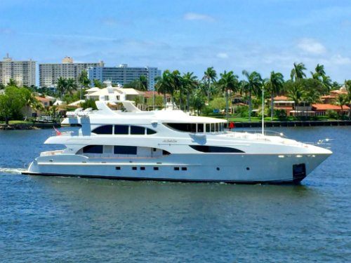 The Kimberlie from Worth Avenue Yachts
