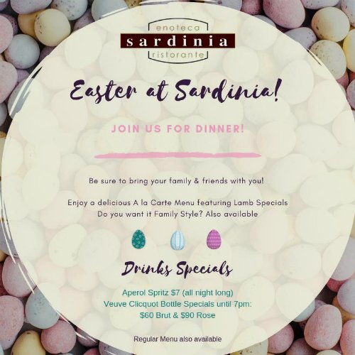 Easter Sunday at Sardinia Delray Beach