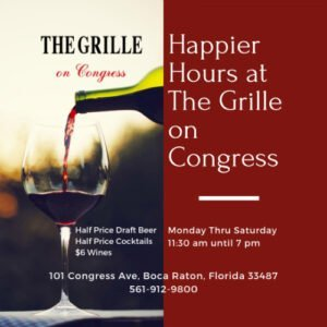 Happier Hours at The Grille on Congress