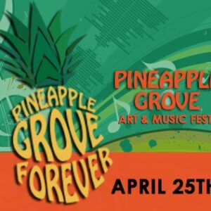 Pineapple Grove Art & Music Fest - Delray Beach