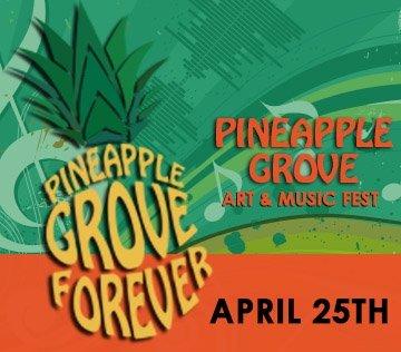 Pineapple Grove Art & Music Fest - Delray Beach