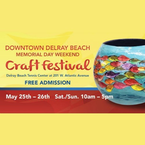 22nd Annual Downtown Delray Beach Craft Festival